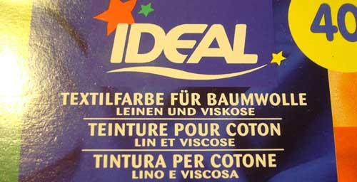 Ideal-Textilfarbe