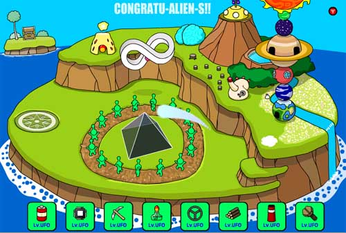 Grow Island Congratualiens