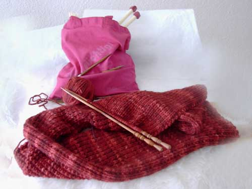 Schal aus Uruwolle
