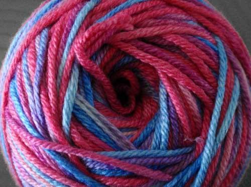 Silky-Cashmere Wolle gefärbt mit SEWO-Color