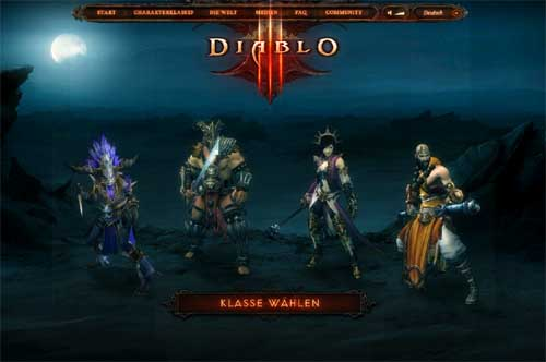 Der Mönch in Diablo 3