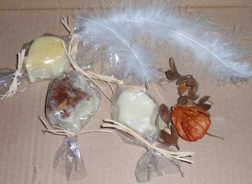 Weihnachtgeschenkewichteln bei der bastel-elfe, Wichtelmami minouche